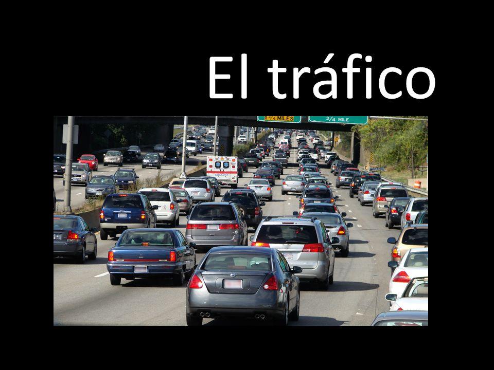 Luces para organizar el tráfico