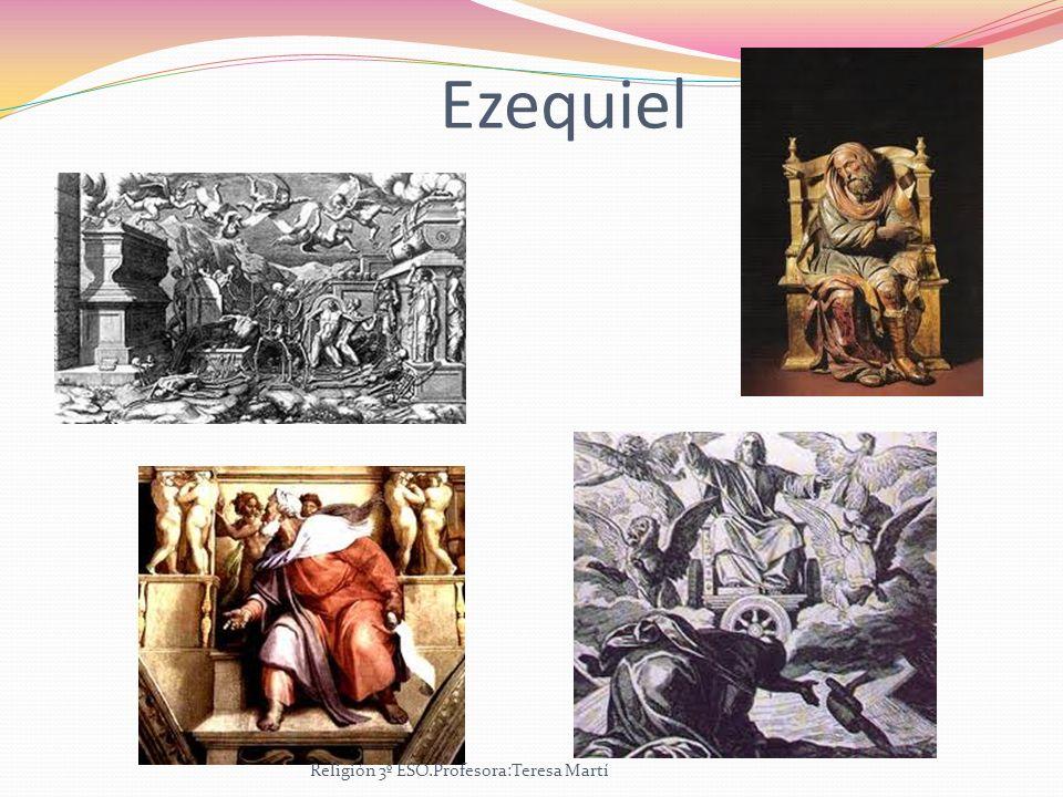 Ezequiel Religión 3º ESO.Profesora:Teresa Martí