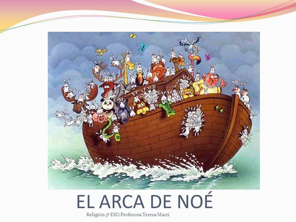EL ARCA DE NOÉ Religión 3º ESO.Profesora:Teresa Martí