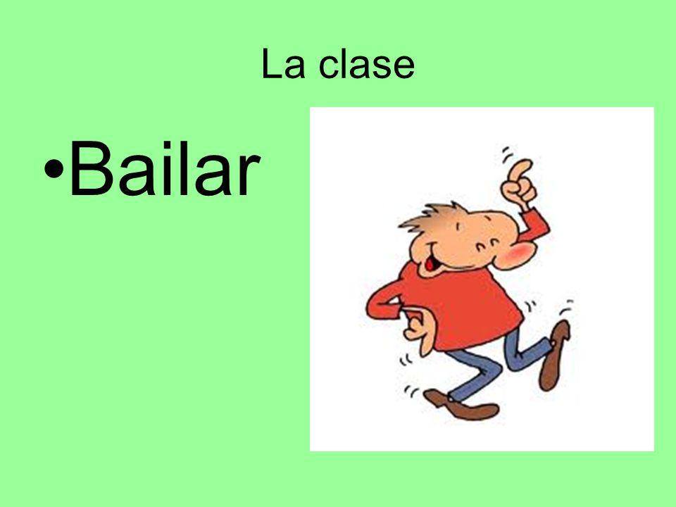 La clase Bailar