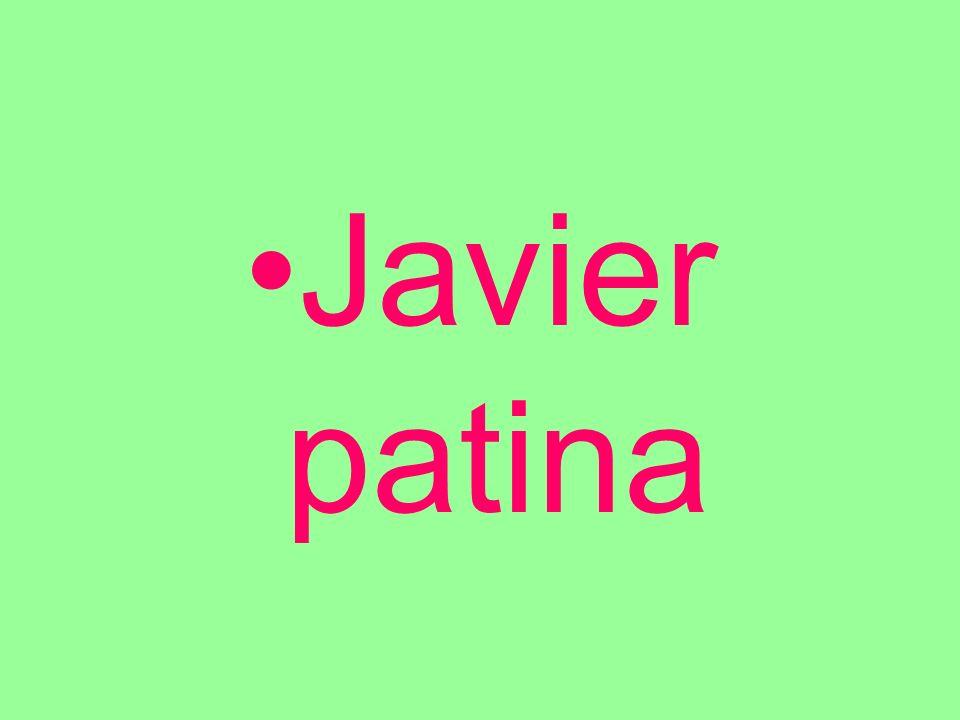 Javier patina