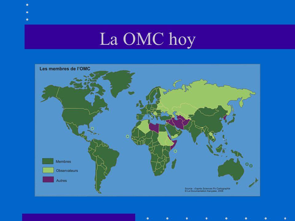 Las novedades El coste de la no participacion en el uruguay round fue demasiado elevado Los negociadores entendieron como funcionaba la OMC Los accionistas en los paises entendieron qué beneficios conllevaba la participacion Los gobiernos abrieron los canales de dialogo con la sociedad civil