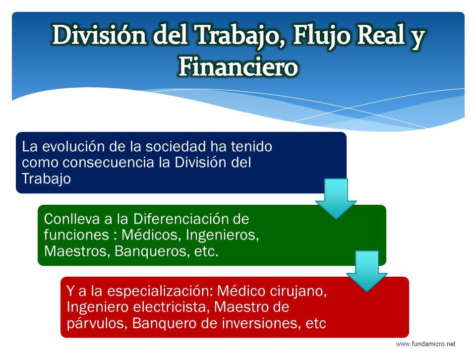 www.fundamicro.net La evolución de la sociedad ha tenido como consecuencia la División del Trabajo Conlleva a la Diferenciación de funciones : Médicos