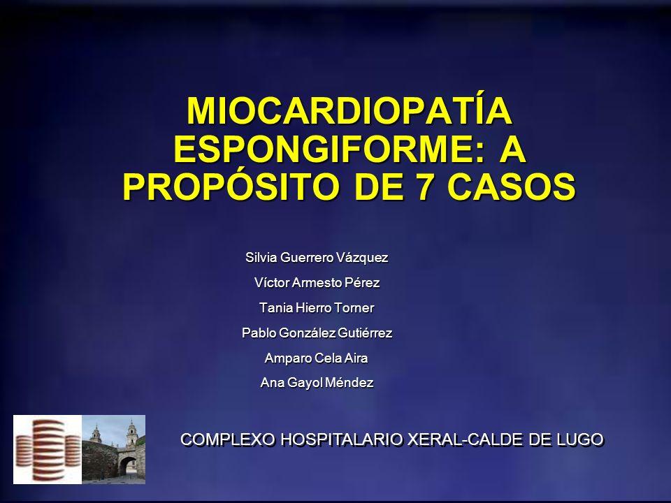MATERIAL Y MÉTODOS el criterio usado para el diagnóstico de esta enfermedad en RM fue la proporción del miocardio no compactado/compactado al final de la diástole > 2,3 el criterio usado para el diagnóstico de esta enfermedad en RM fue la proporción del miocardio no compactado/compactado al final de la diástole > 2,3