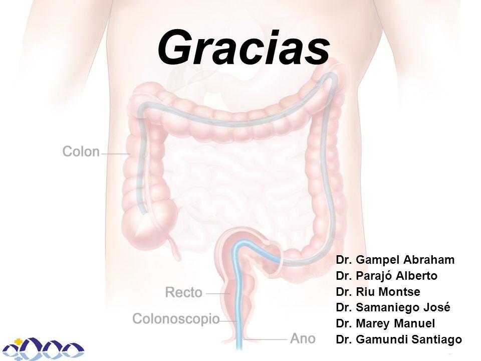 Gracias Dr. Gampel Abraham Dr. Parajó Alberto Dr.