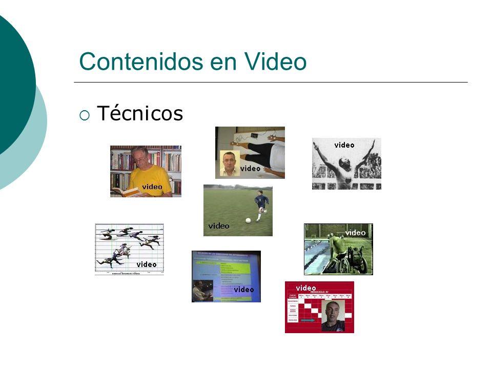 Contenidos en Video Técnicos
