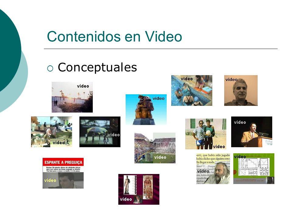 Contenidos en Video Conceptuales