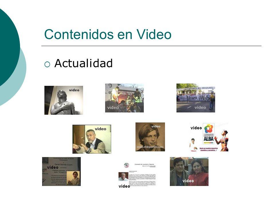 Contenidos en Video Actualidad