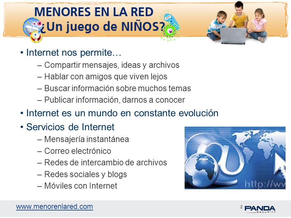 www.menorenlared.com 13 Gracias www.menorenlared.com