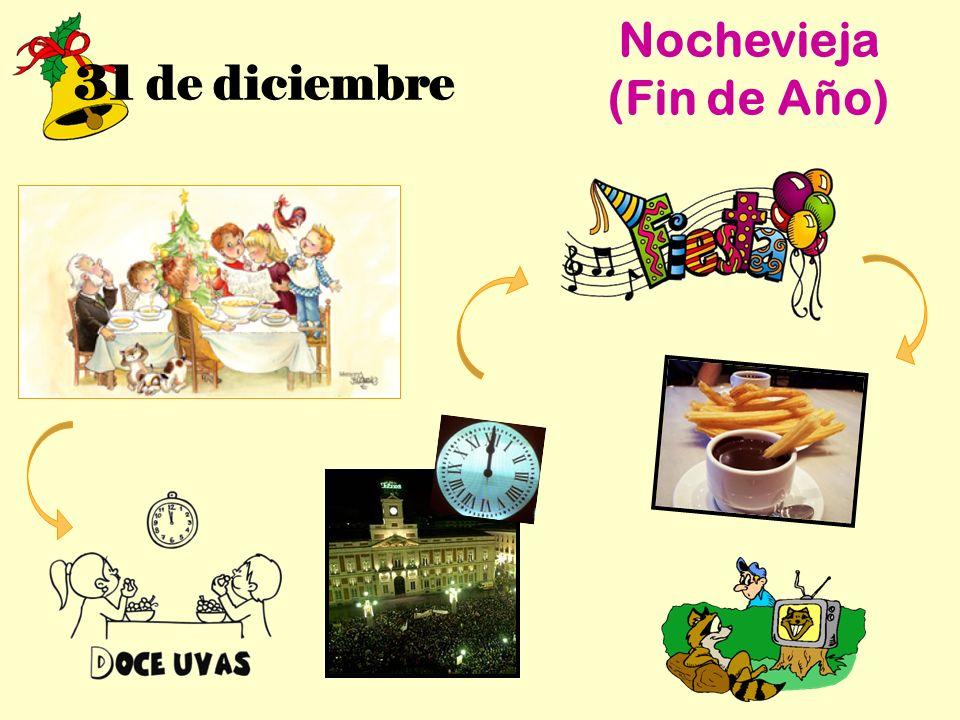 31 de diciembre Nochevieja (Fin de Año)