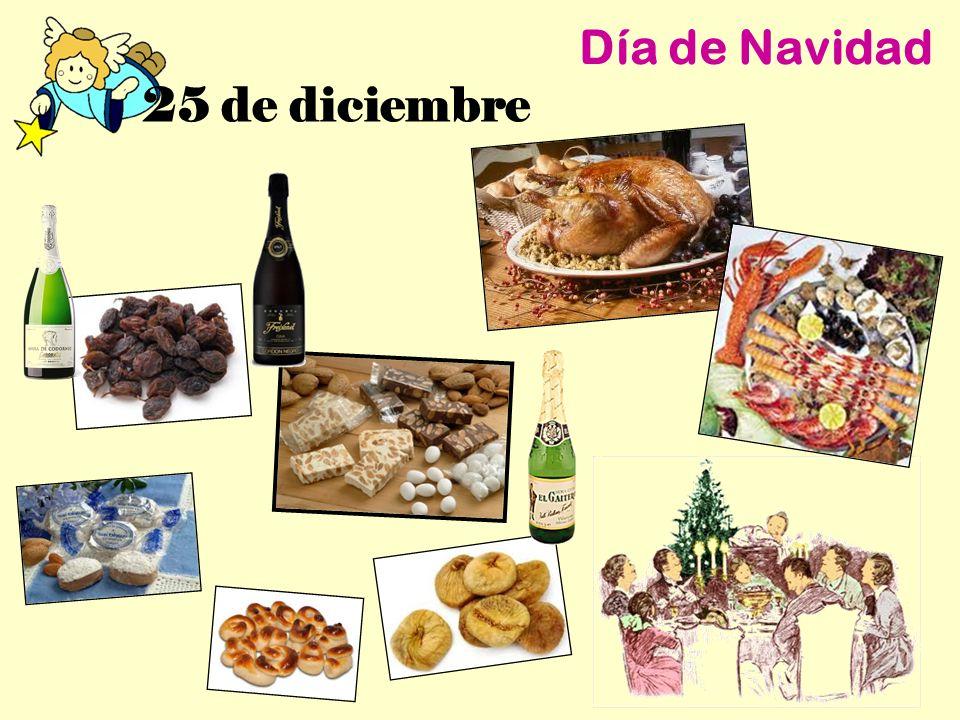 25 de diciembre Día de Navidad