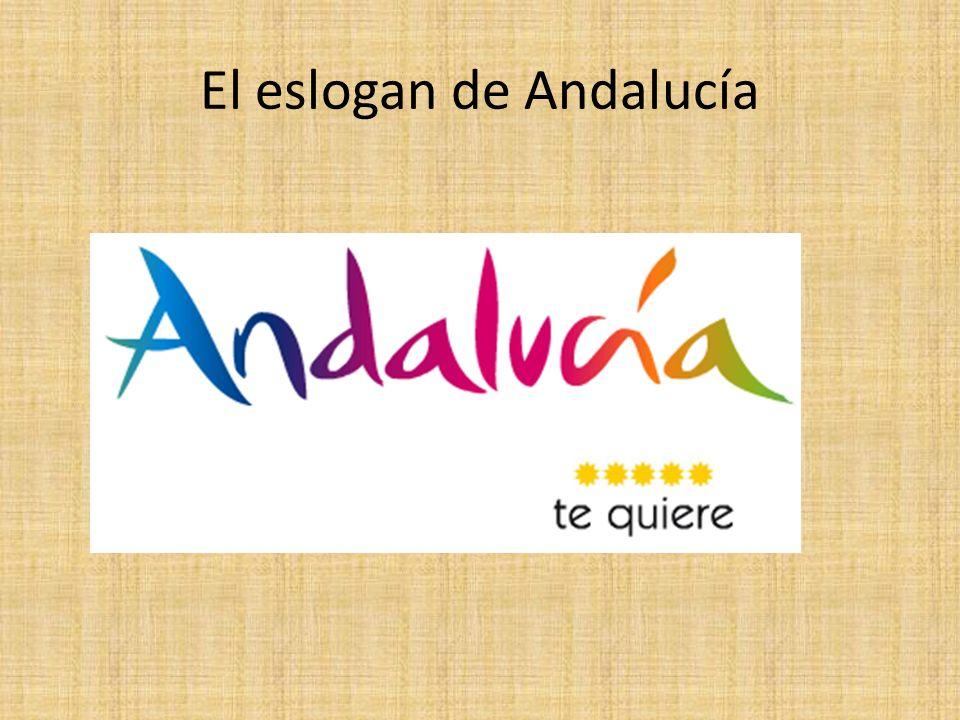 El eslogan de Andalucía