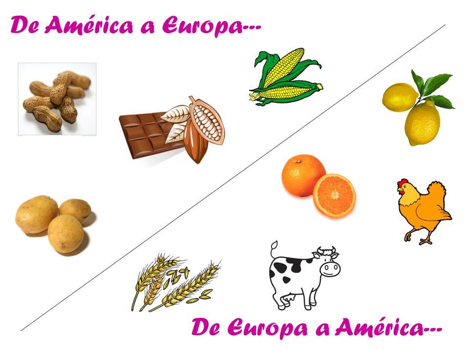 De América a Europa--- De Europa a América---