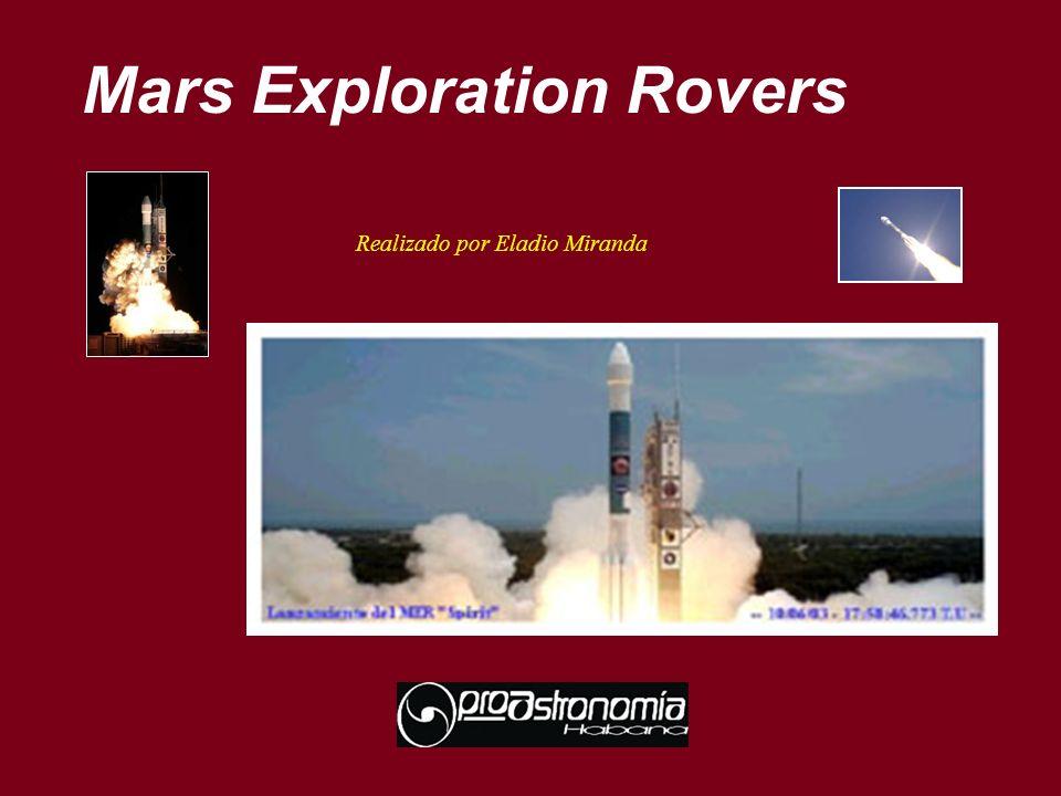 Mars Exploration Rovers Realizado por Eladio Miranda