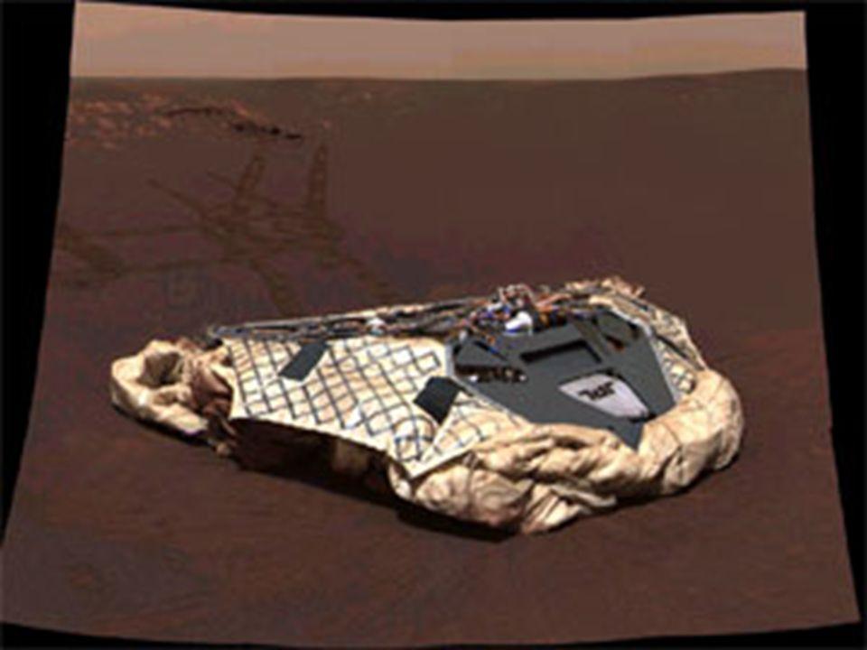 Zona de aterrizaje y Comunicaciones La zonas de aterrizaje seleccionadas entre cientos de candidatas han sido el Cráter Gusev ( Spirit) y Meridiani Planum.