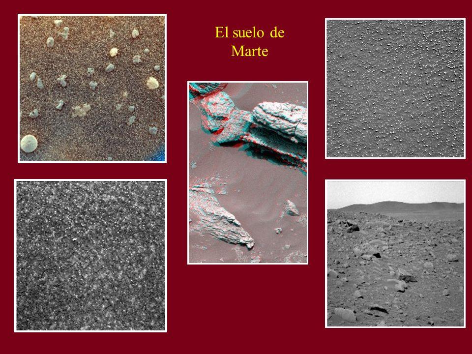 El suelo de Marte