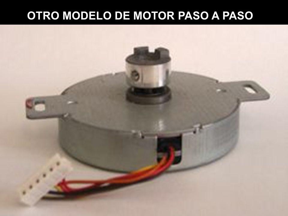 OTRO MODELO DE MOTOR PASO A PASO