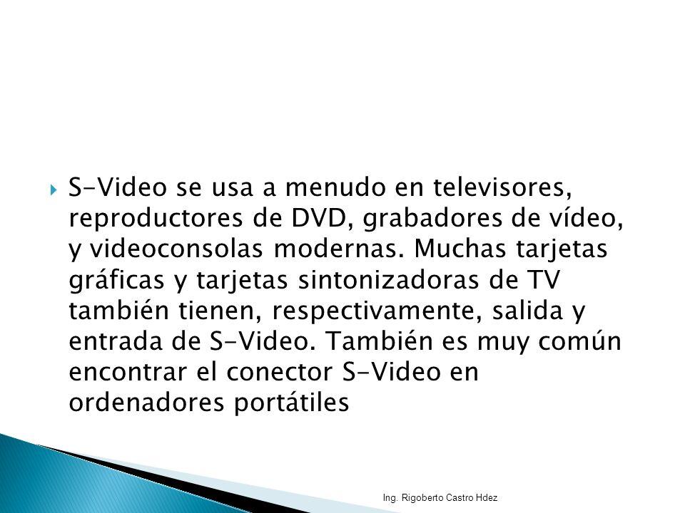 S-Video se usa a menudo en televisores, reproductores de DVD, grabadores de vídeo, y videoconsolas modernas. Muchas tarjetas gráficas y tarjetas sinto