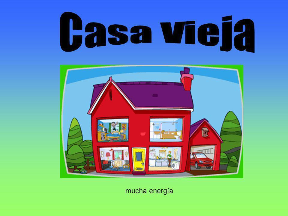 Casa vieja: En nuestras vieja casa nosotros usar aire acondicionado con ventanas abre.