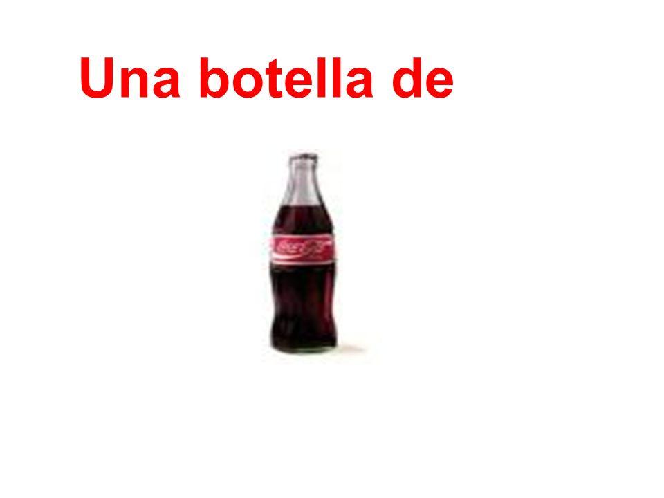 Una botella de