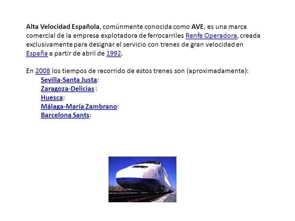 Companias principales: RENFE:operador de trenes Tipos de tren:AVE:Alta Velocidad Española Talgo:menos rápido que la AVE ALSA:autocares mucho más barato