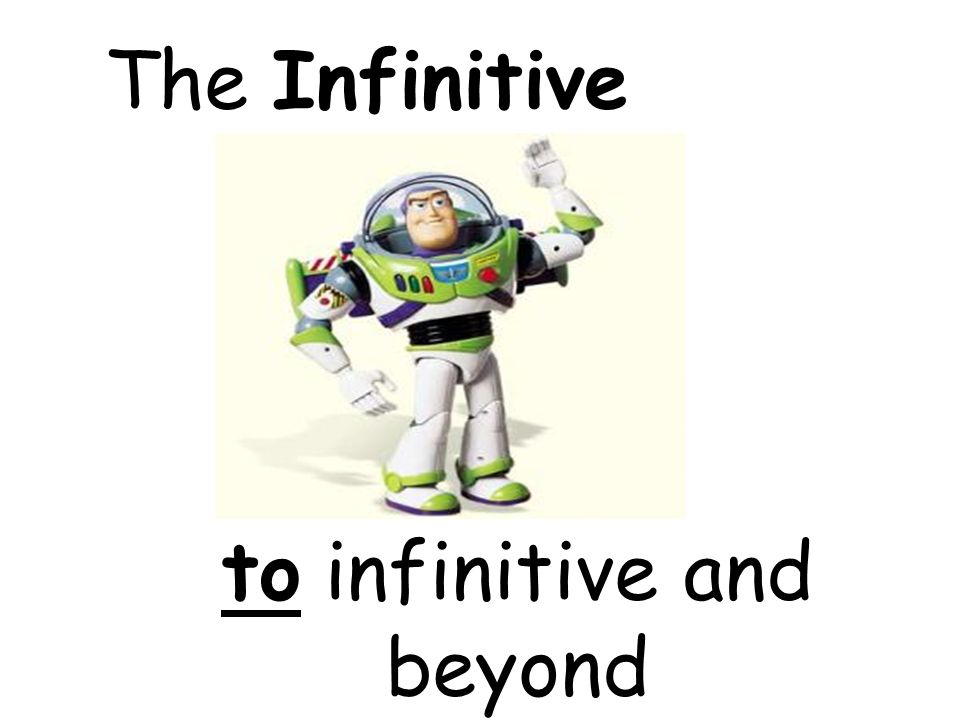 3 types of infinitive; -ar -er -ir These all go at the end of the word