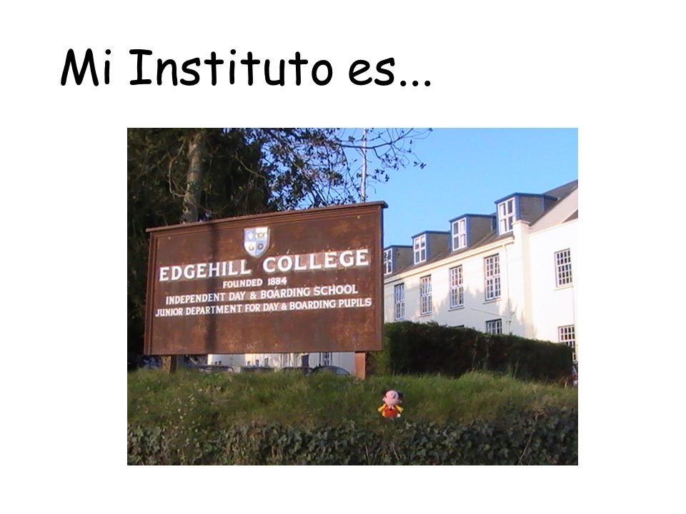Mi Instituto es...