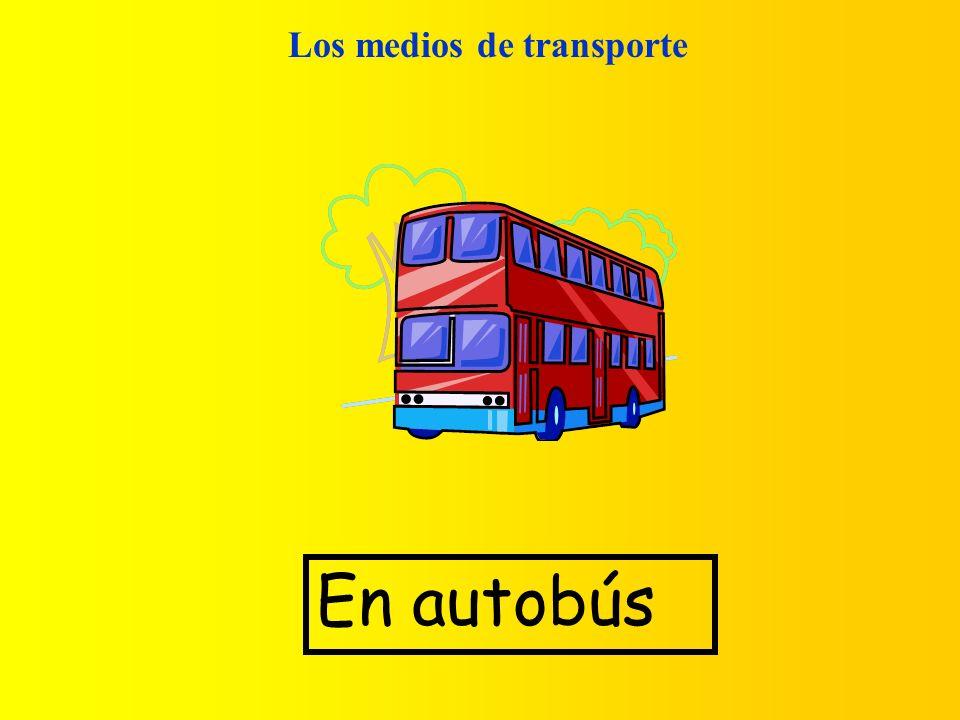 Los medios de transporte En autobús