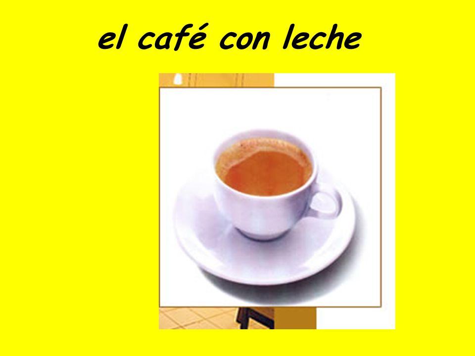 el café (solo)