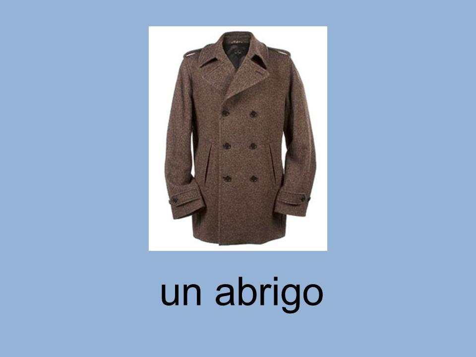 un abrigo