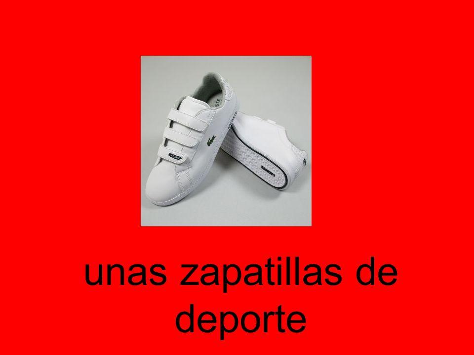 unas zapatillas de deporte