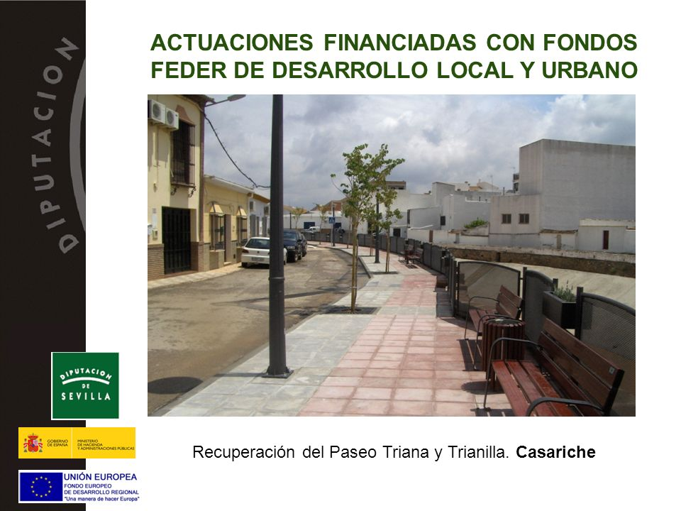 Recuperación del Paseo Triana y Trianilla. Casariche