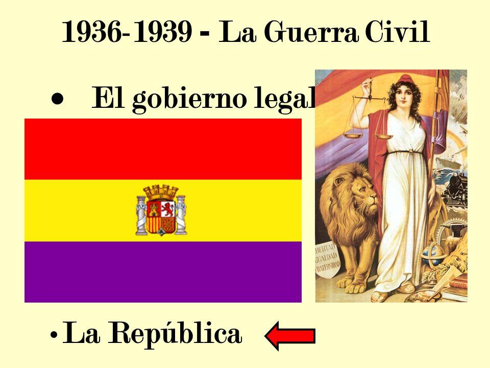 El gobierno legal La República