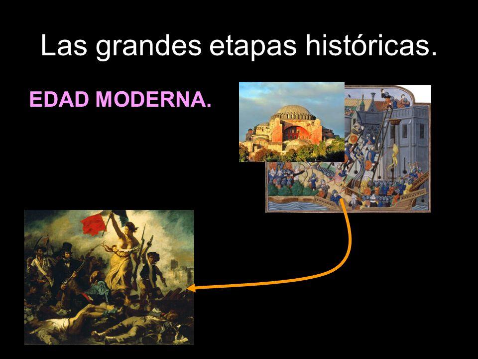 Las grandes etapas históricas. EDAD MODERNA.