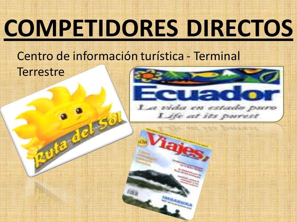 COMPETIDORES DIRECTOS Centro de información turística - Terminal Terrestre
