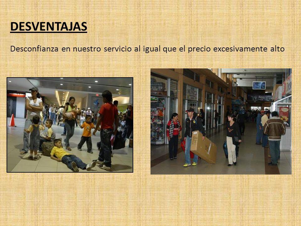 SEGMENTO OBJETIVO Viajeros con equipaje de tamaño mediano y más grande.