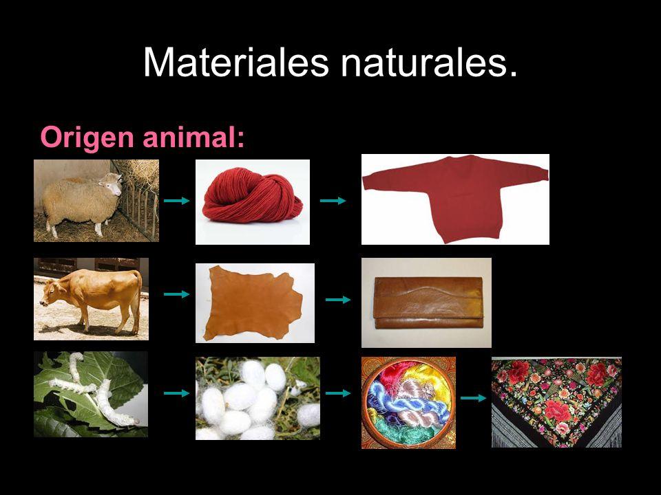 Materiales naturales.La madera. Se emplea en toda clase de construcciones, en el mobiliario, etc.