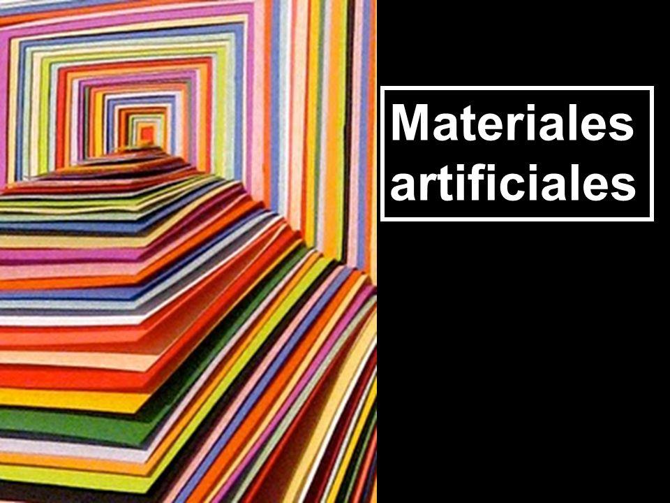 Materiales artificiales. Plásticos.
