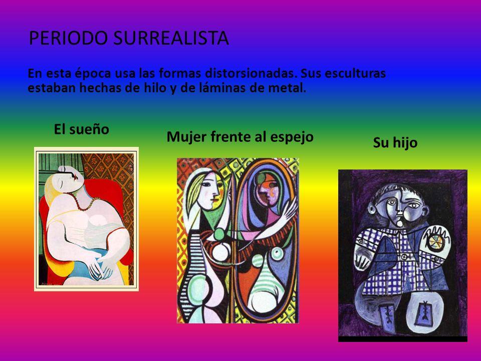 PERIODO EXPRESIONISTA En este periodo Picasso pintó uno de sus cuadros más famosos, el Guernica.