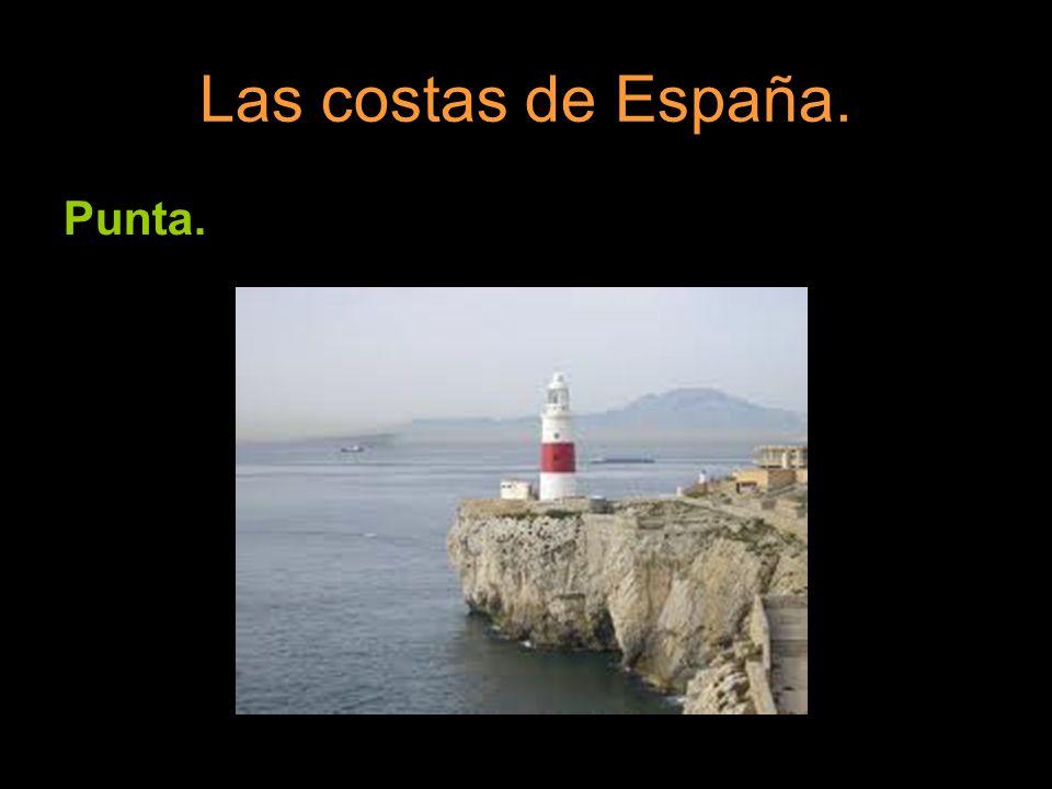 Las costas de España. Punta.