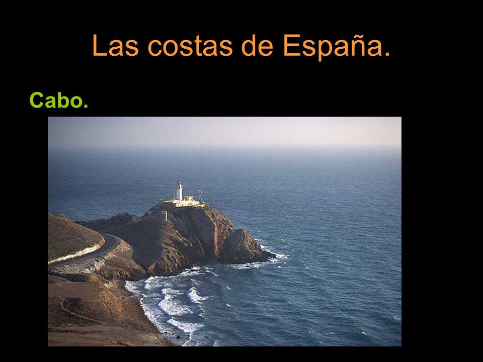 Las costas de España. Cabo.