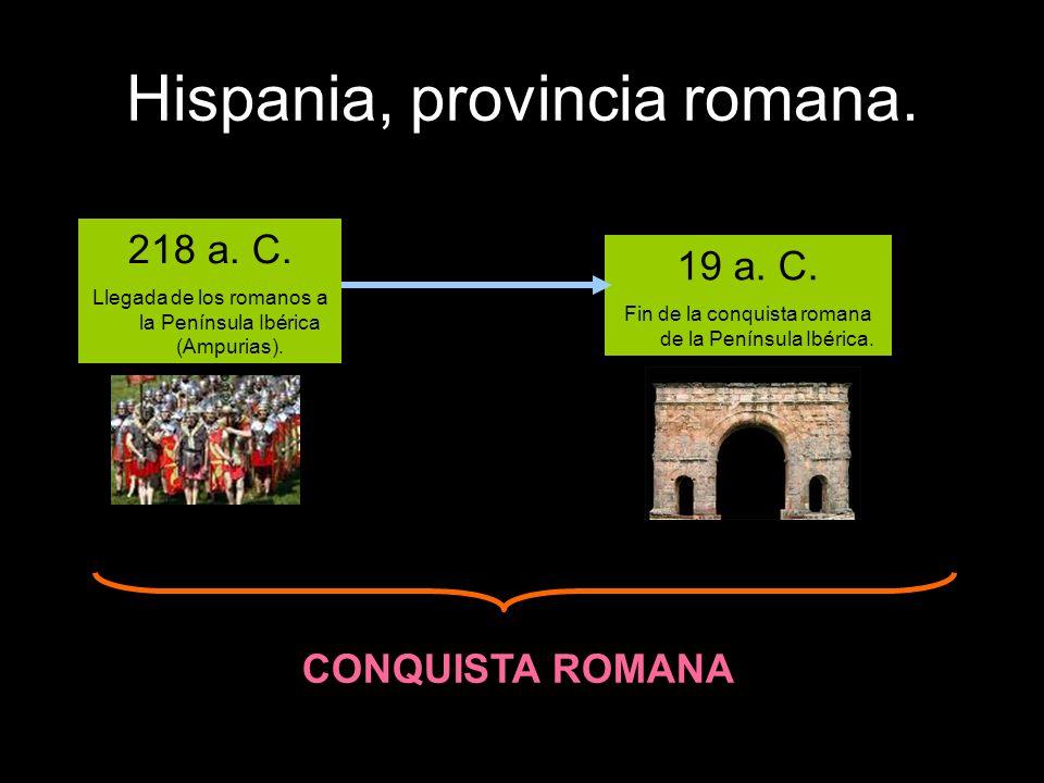 Hispania, provincia romana.El campamento romano.