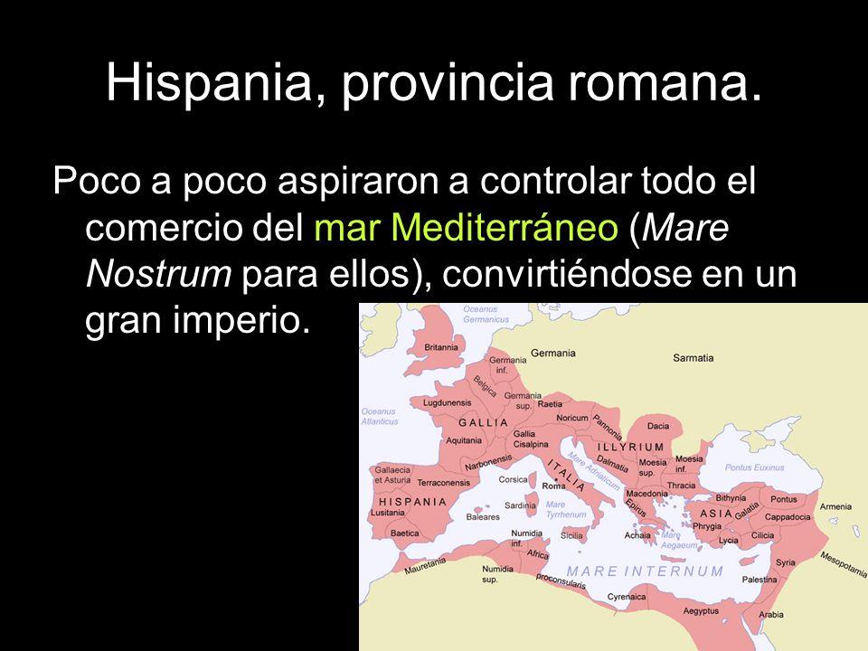 Hispania, provincia romana.Los cartagineses.