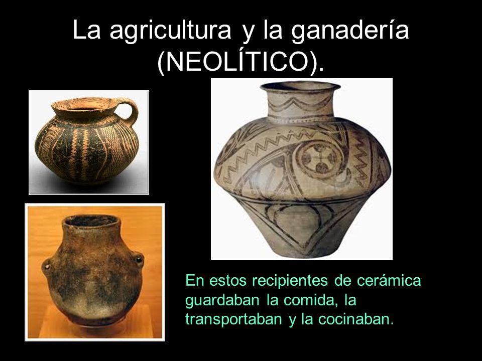 En estos recipientes de cerámica guardaban la comida, la transportaban y la cocinaban.