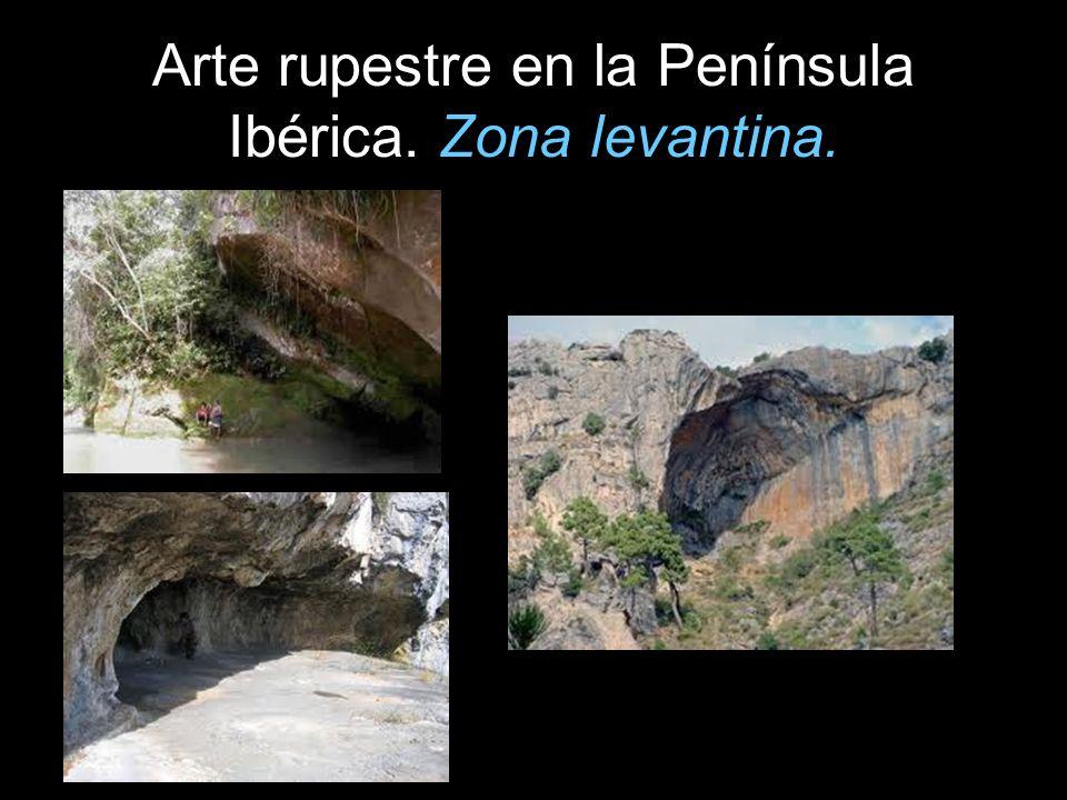 Arte rupestre en la Península Ibérica. Zona levantina.