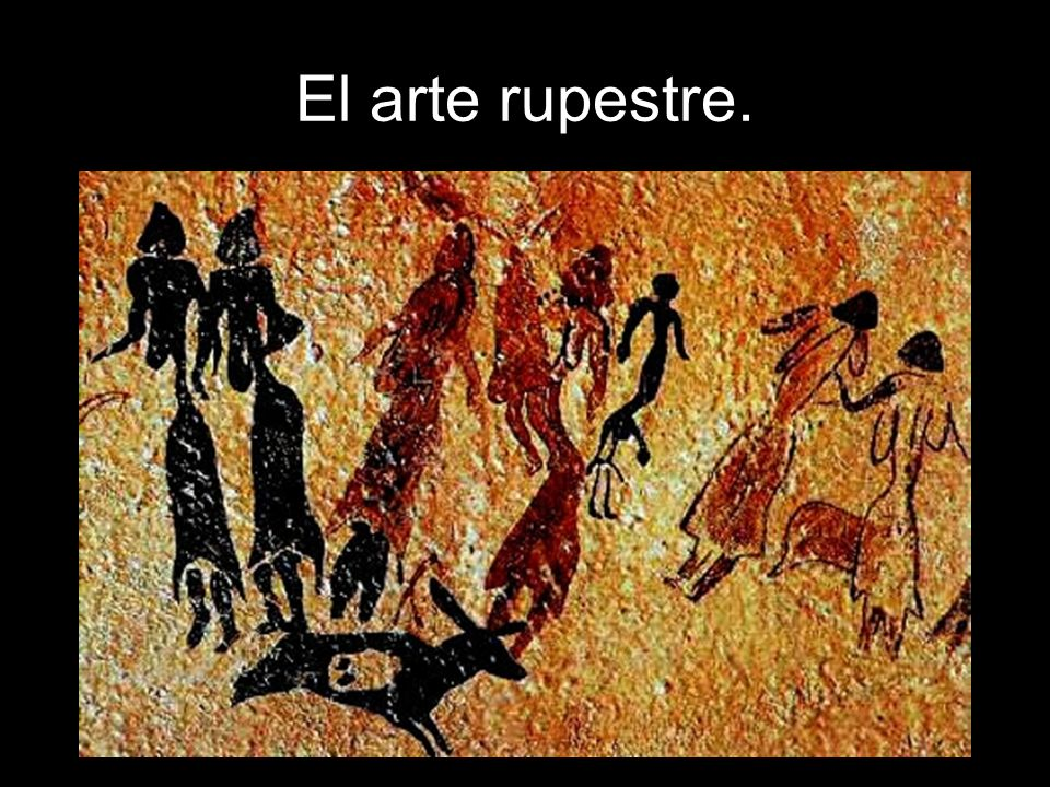 Arte rupestre en la Península Ibérica.Zona cantábrica.
