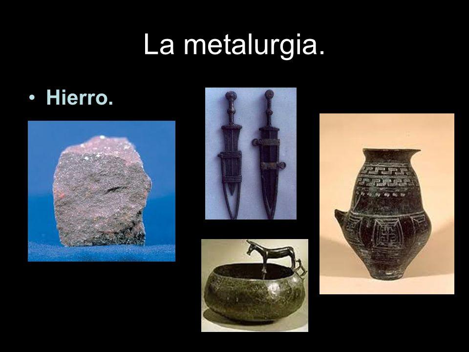 La metalurgia. Hierro.