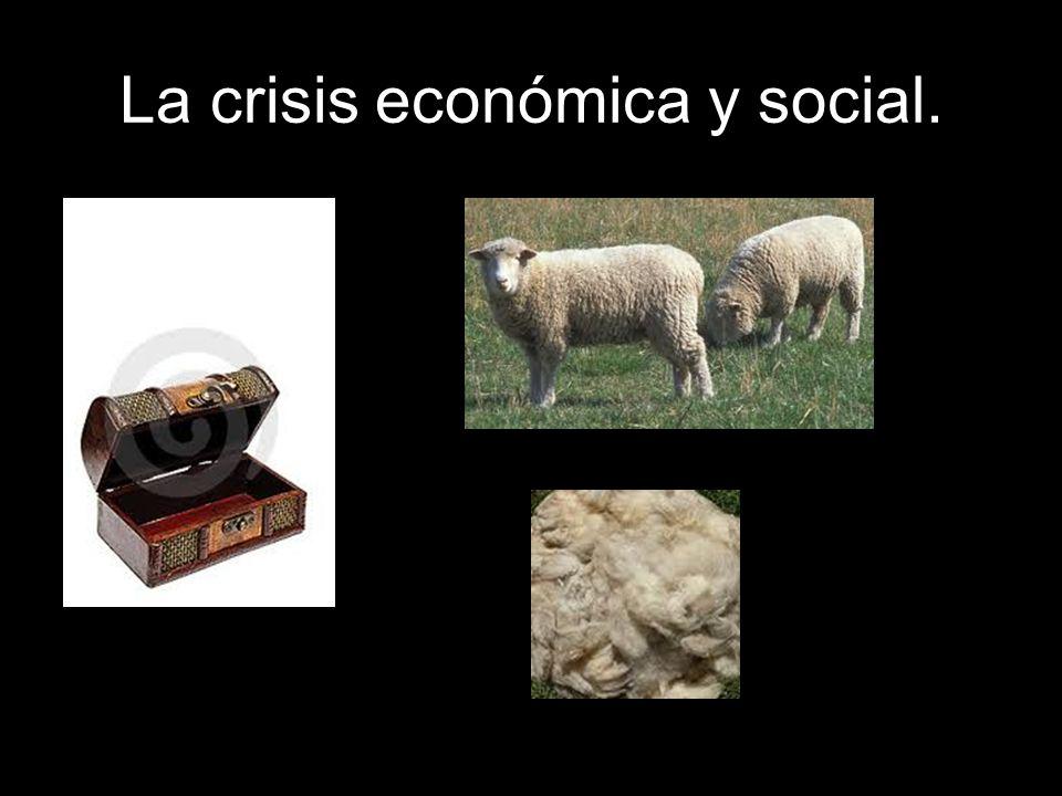Las consecuencias de la crisis económica afectaron a todos los grupos sociales, pero especialmente a: Campesinos, que emigraron a América.