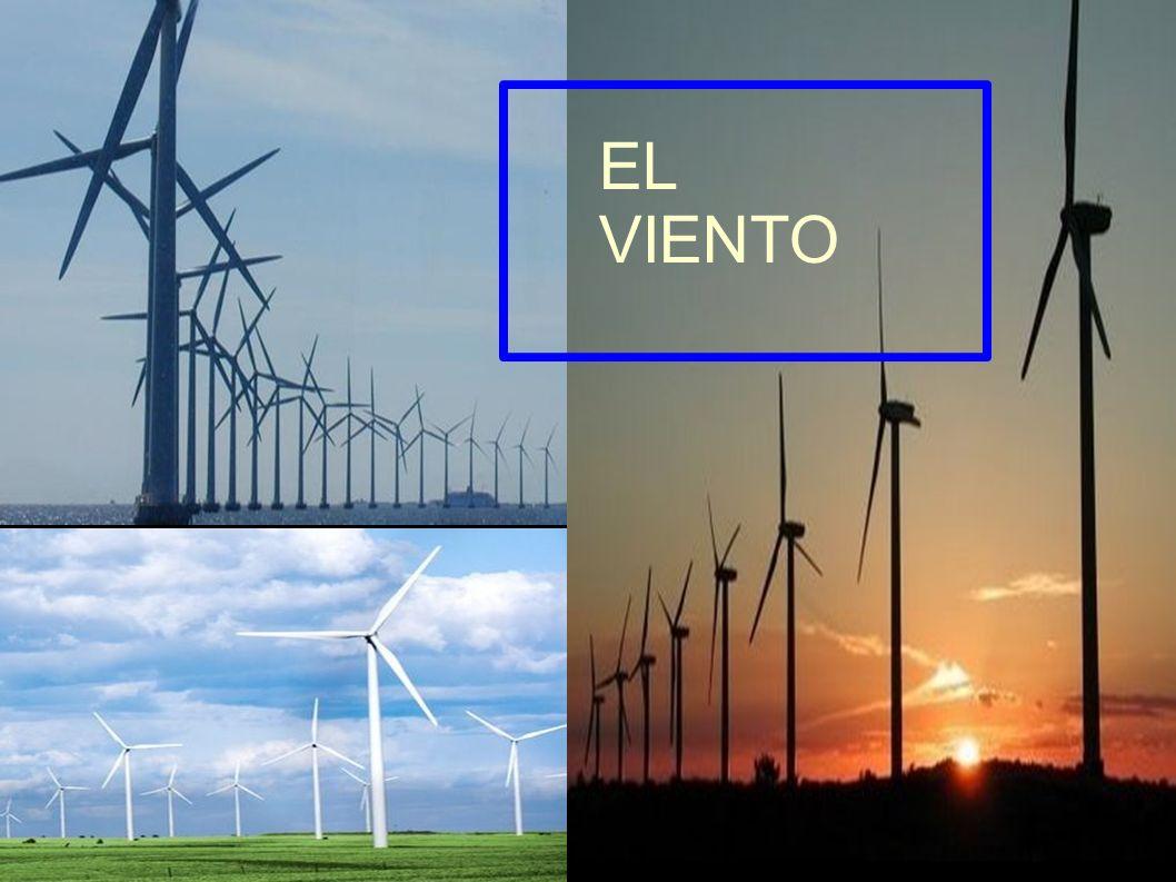 FUENTES DE ENERGÍA RENOVABLES: EL VIENTO ENERGÍA ÉOLICA= ENERGÍA DEL VIENTO Viento es aire en movimiento,se trata de energía mecánica =