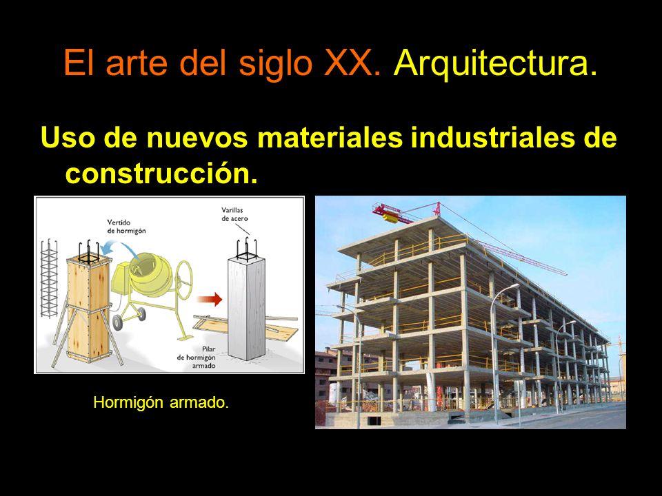 Uso de nuevos materiales industriales de construcción. Hormigón armado.